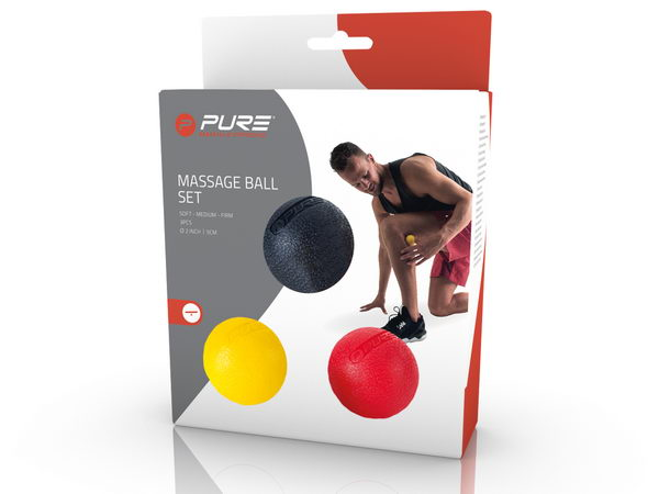 Piłka do masażu P2I MASSAGE BALL SET (3 szt.)